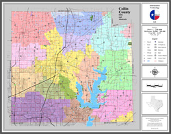 Map Of Collin County GIS/Rural Addressing